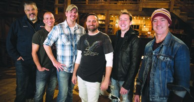 Delta Spur will serve up its brand of piping hot modern country Saturday, Nov. 21, at Smokehouse Live in Leesburg. From left, Harry Evans, drums; Matthew Byrne, fiddle; Tommy Bouch, lead vocals and guitar; David West, lead vocals and guitar; Matthew Berry, lead guitar; and Mike Hooke, bass.