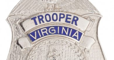Virgina State Police Badge