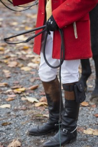 UNITED STATES - November 11, 2015 : Loudoun Hunt started in 1894 and is 121 years old this year. Its by far the oldest organized hunt in Loudoun County. Here Joint Master of the Hunt Lawrence Dale III prepares horses at Hume Farm off of Dry Mill Road near Leesburg. (Photo By Douglas Graham/Loudoun Now)
