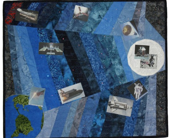 An exhibit of modern era quilts will open at the Leesburg Town Exhibit Hall, Tuesday, Dec. 1, continuing through Jan. 31.