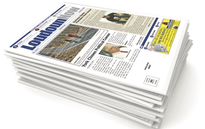 Loudoun Now newspaper stack