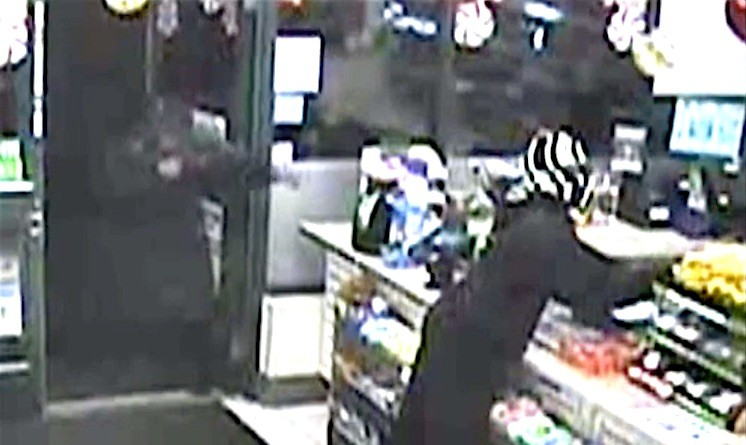The Loudoun County Sheriff's Office is investigating an armed robbery that occurred this morning at  the 7-Eleven store on Ashburn Road.