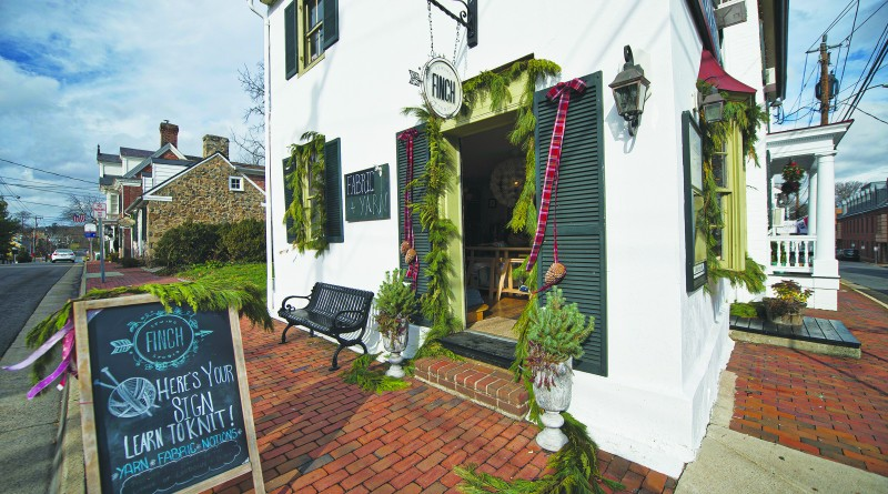 UNITED STATES - December 14, 2015: Finch Sewing Studio in downtown Leesburg Virginia is a boutique selling sewing and knitting supplies. (Photo by Douglas Graham/Loudoun Now)