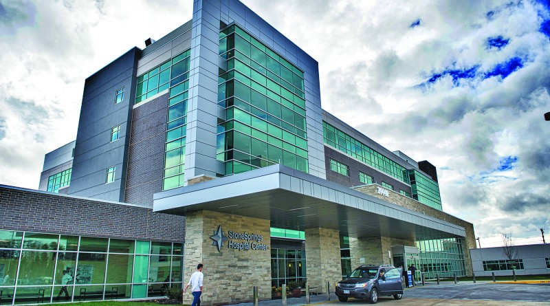UNITED STATES - December 14, 2015: Stone Springs Hospital is Loudoun County's newest hospital opening its doors on December 7th. The new 234,000 square foot, 124-bed facility is located at 24440 Stone Springs Blvd, near the intersection of Route 50 and Gum Spring Road.  (Photo by Douglas Graham/Loudoun Now)