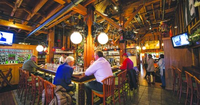 "Tuscarora Mill Restaurant, also known as ""Tuskies"" in downtown Leesburg Virginia at Market Station is set for the restaurant's 30th anniversary.  (Photo by Douglas Graham/Loudoun Now)"