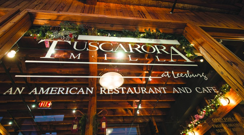 """Tuscarora Mill Restaurant, also known as """"Tuskies"""" in downtown Leesburg Virginia at Market Station recently celebrated its 30th anniversary.  (Photo by Douglas Graham/Loudoun Now)"""
