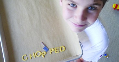 """James Hooper, a Leesburg 13-year-old, tested his cooking chops on the Food Network program """"Chopped Junior.""""  (Courtesy Lorraine Hooper)"""