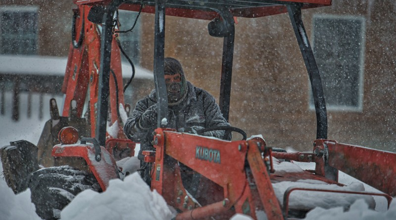 Residents of Bluemont struggle to stay ahead of the storm as the blizzard pushes into day two with snow totals reaching more than 30 inches in parts of the mountain village in Western Loudoun County.  (Douglas Graham/Loudoun Now)
