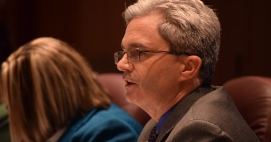 Loudoun Superintendent Eric Williams introduced a more than $1B budget. Renss Greene/Loudoun Now