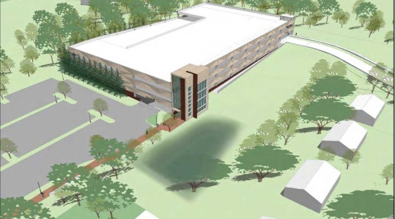 Pennington Lot Parking Garage Rendering