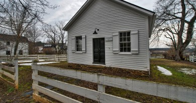 The Second Street School in Waterford has been a history tour site for thousands of Loudoun schoolchildren as they recreate a day in the life of black children in the late 19th century.  [Douglas Graham/Loudoun Now]