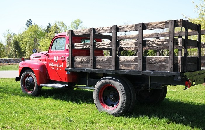 A reward has been offered in connection with the theft  of this truck.