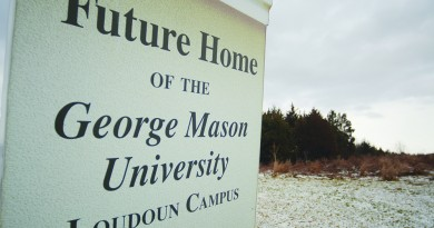 A sign on 37 acres between Demott Drive and the Dulles Greenway in Broadlands has promised a George Mason University campus since 2009. A deal that's in the works might make the campus a reality, just on a different piece of land.