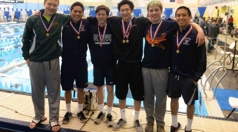 Few records were safe during the 2016 VHSL Group 4A State Swim Championship hosted by the SwimRVA Aquatic Center, Richmond, VA on Saturday, Feb. 20.  [ Aaron Wyche/VivaLoudoun]