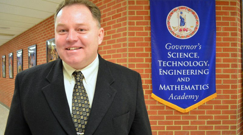 Timothy Flynn, C.S. Monroe Technology Center's third principal, is preparing the school for a major expansion.