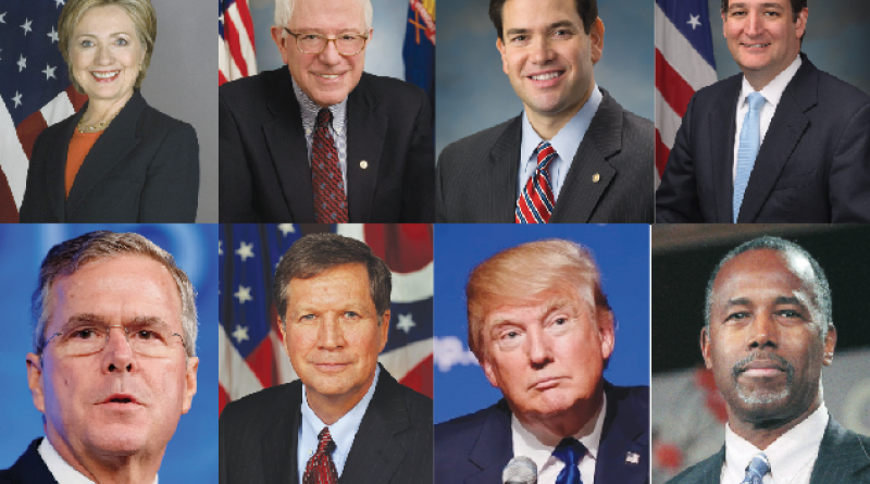 Super Tuesday Primary Candidates