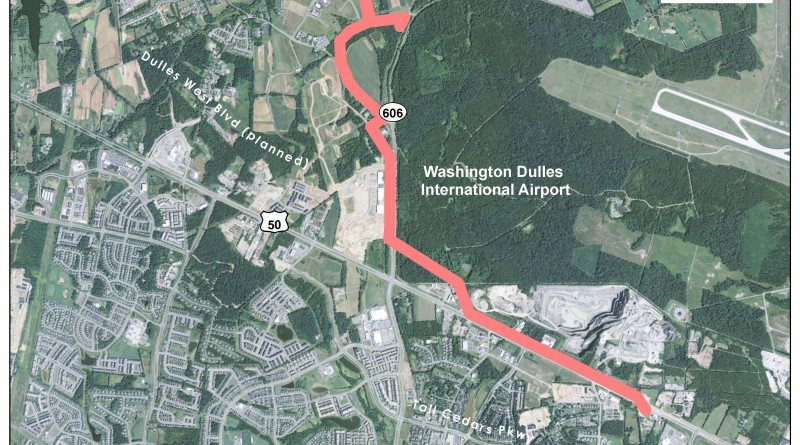 One of the county's proposed alternate routes for Dominion Virginia Power's new transmission lines, which the SCC will consider Tuesday.