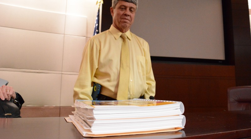 Supervisor Ralph M. Buona stands with the proposed fiscal year 2017 budget after the board narrowly supported his proposed tax rate. (Renss Greene/Loudoun Now)