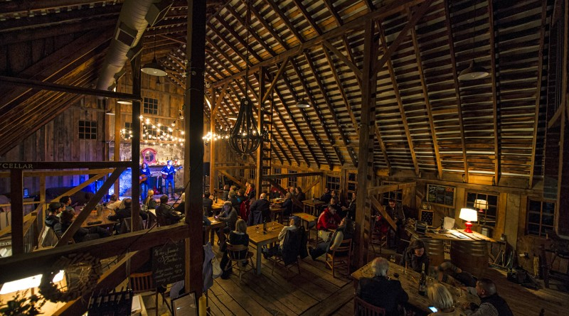Patrons enjoy first-rate entertainment with Jennifer & Scott Smith of Naked Blue as they perform the concert series, Songs, Stories & Gas Money at The Hamilton Station Barns on Saturday, March 5, 2016 in Hamilton Virginia.    (Photo by Douglas Graham/Loudoun Now)