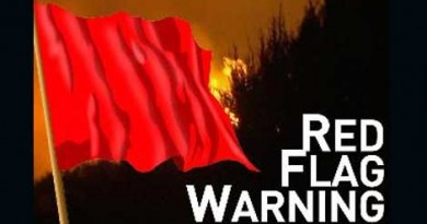 Red Flag Fire Warning