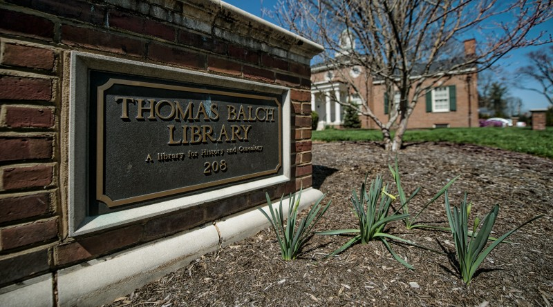 The Thomas Balch Library in Leesburg   (Photo by Douglas Graham/Loudoun Now)