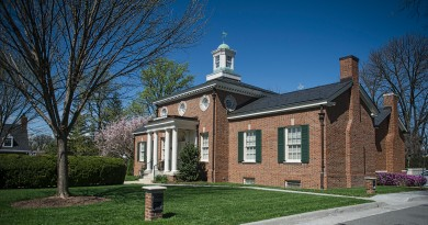Thomas Balch Library in Leesburg Virginia is a history and genealogy library.    (Photo by Douglas Graham/Loudoun Now)