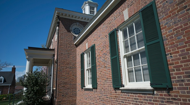 The Thomas Balch Library in Leesburg Virginia is a history and genealogy library.    (Photo by Douglas Graham/Loudoun Now)