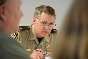 Loudoun Sheriff Mike Chapman. (Renss Greene/Loudoun Now)