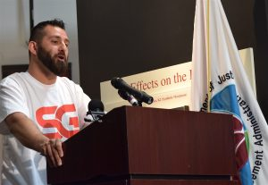 Nick Yacoub, of the Substance Abuse Addiction and Recovery Alliance.