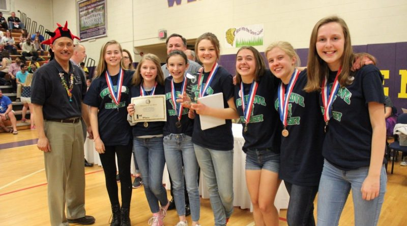 The Woodgrove High School's Odyssey of the Mind team is one of 12 from Loudoun County headed to the program's world competition later this month.