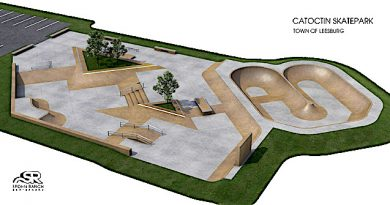 One of the proposed designs for Leesburg's new skate park.  [Spohn Ranch]