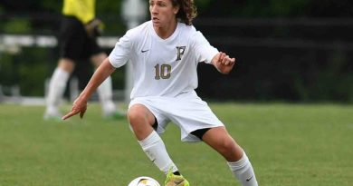 Freedom's Jantzen O'Toole, Conference 22 Boys Soccer 1st Team midfielder (Courtesy of Aaron Wyche/Viva Loudoun(