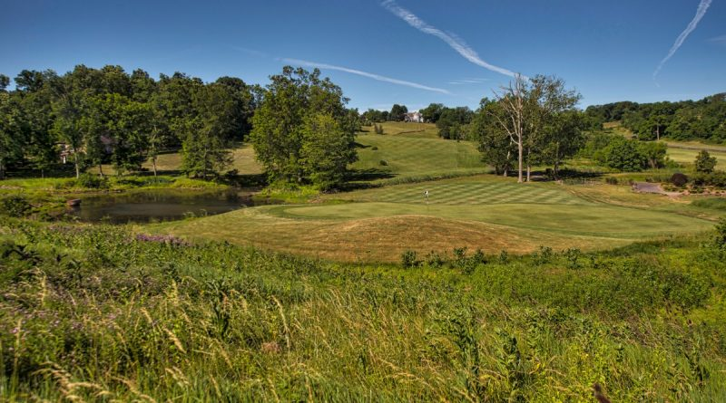 The back nine of Stoneleigh Golf and Country Club.