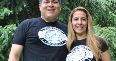 After facing a lot of red tape in Fairfax County, Antonio and Maha Maradiaga decided to open Twinpanzee Brewing Company in Loudoun County, which designed its regulations to with breweries in mind. (Courtesy Zachary Maradiaga)