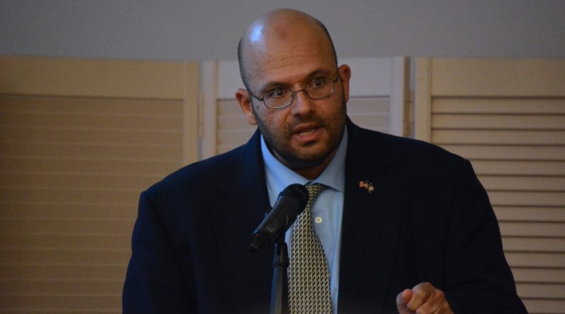 ADAMS board chairman Rizwan Jaka. (Renss Greene/Loudoun Now)