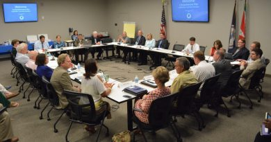 The stakeholder committee gets underway. (Renss Greene/Loudoun Now)