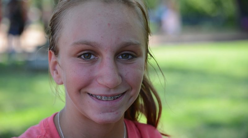 Rising sixth grader and repeat camper Katie Meek said Teen Serve Camp is tougher than Junior Serve Camp, but both show how to help others. (Renss Greene/Loudoun Now)