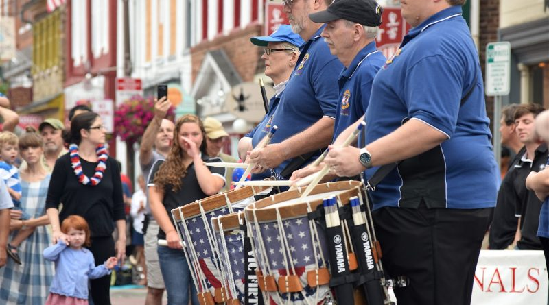 The American Originals perform at the Leesburg Independence Day parade.