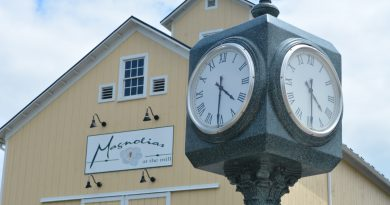 It may be 5 o'clock somewhere, but it is always  4:30 in downtown Purcellville.