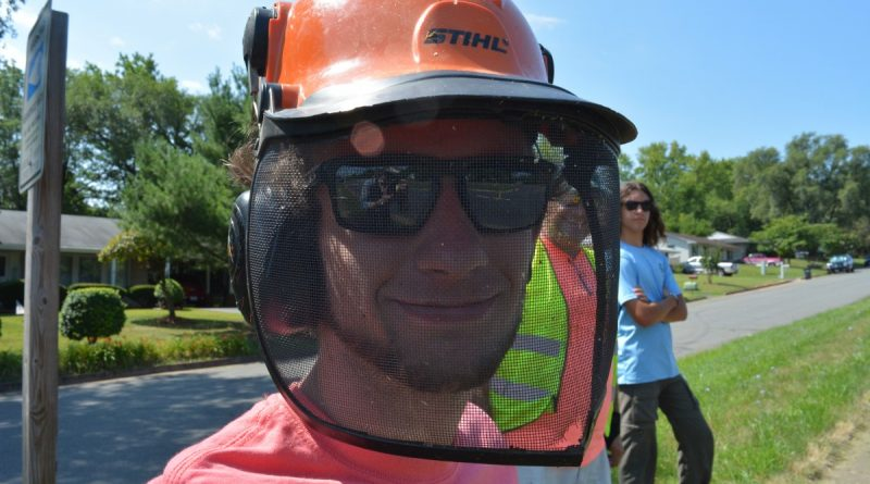 Safety first for campers using power equipment. (Renss Greene/Loudoun Now)