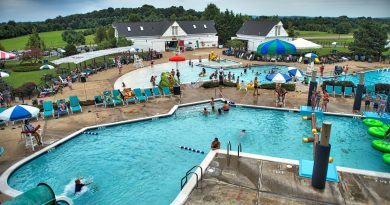 The pool complex at Franklin Park resulted from a $2 million bond referendum in 1989, only the second time Loudoun voters approved borrowing money for a parkland purchase.   [Doug Graham/Loudoun Now]