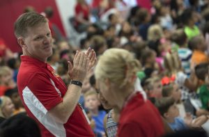 Madison's Trust Elementary Principal David Stewart [Douglas Graham/Loudoun Now]