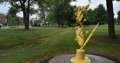 The Art sPARKs Sculpture Trail in Raflo Park. (Loudoun Now file photo)