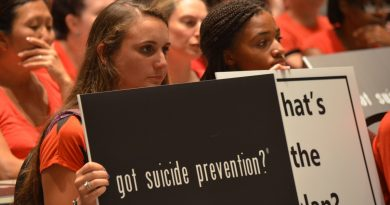 Students and parents urged Loudoun County School Board members in August to do more to prevent suicide. (Danielle Nadler/Loudoun Now)