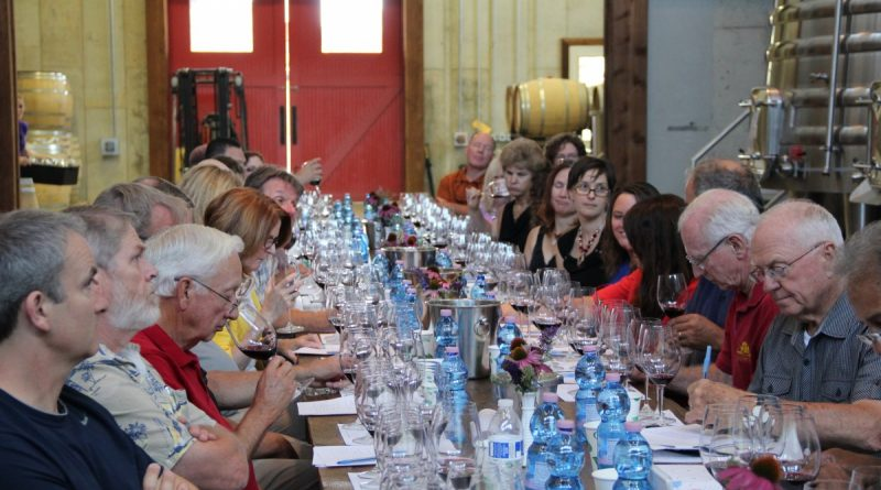 Vineyard owners, winegrowers, and winemakers from across Loudoun County take part in the Loudoun Wineries Association Winemaker Forum Wednesday, July 20 at Stone Tower Winery. (Courtesy Loudoun Wineries Association)