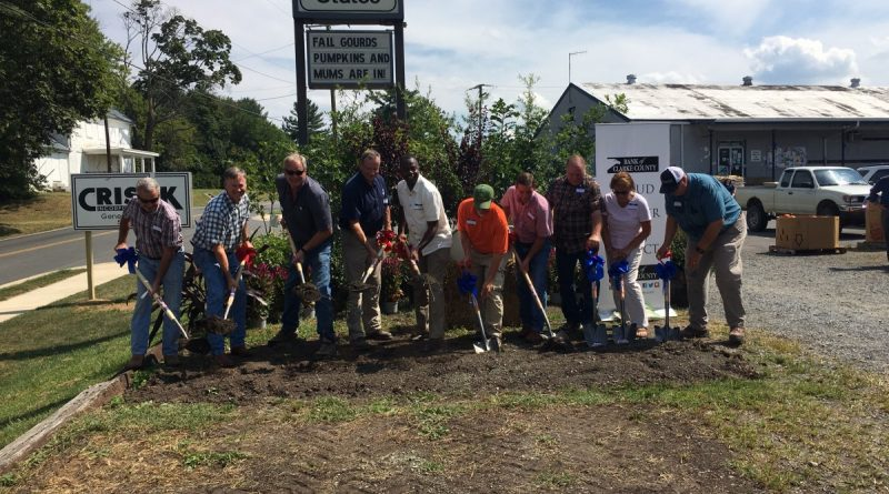 The new Purcellville Southern States broke ground Friday.  [Courtesy of Bank of Clarke County]