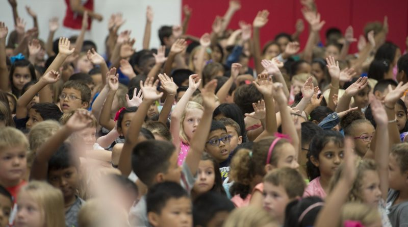 Madison's Trust Elementary opened last month to relieve overcrowding in the schools in the southern end of the county. [Douglas Graham/Loudoun Now]