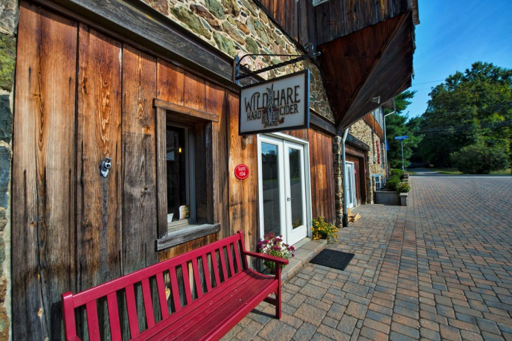 Wild Hare Cider and the Tightroom Chocolate tasting room is in Bluemont. [Douglas Graham/Loudoun Now]