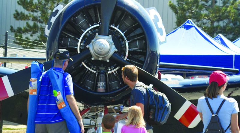 The tarmac of Leesburg Executive Airport is expected to draw a big crowd Saturday for the seventh annual Leesburg Airshow.  [Courtesy of Leesburg Airshow]
