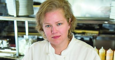 Lightfoot head chef Ingrid Gustavson [Donna T. Johnson Photography]